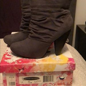 Chinese Laundry Grey Booties